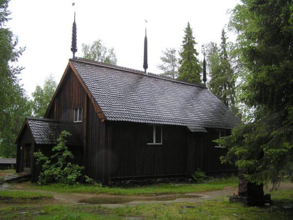 Sodankylä. Najstarszy kościół w Laponii