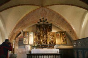Waase Kościółek Mariacki na wyspie Ummanz