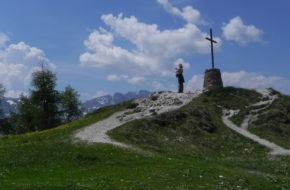Monte Santo di Lussari Góra pielgrzymów i narciarzy