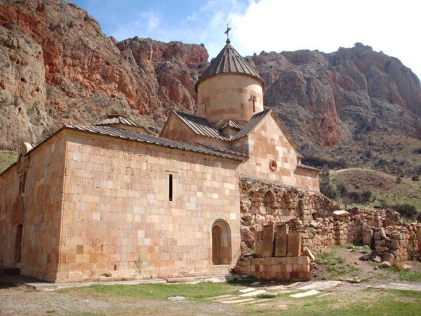 Noravank. Klasztor wśród pomarańczowych skał