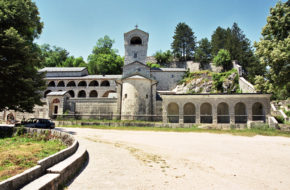 Cetinje Dom władyki-poety i zabytki byłej stolicy
