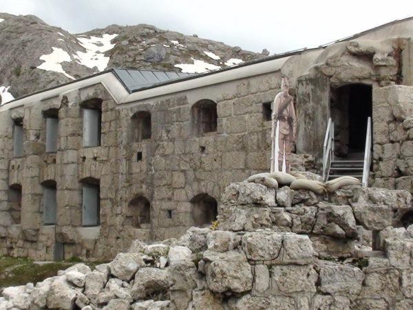 Passo Varparola. Fort Tre Sassi – pamiątka Wielkiej Wojny