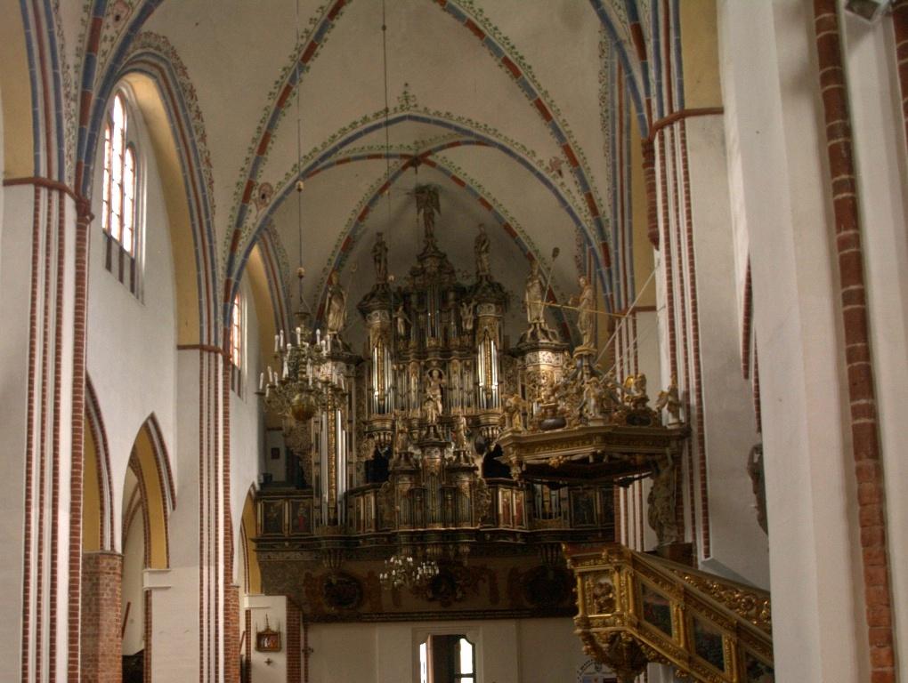 Kamień Pomorski. Niebiański koncert organowy w katedrze