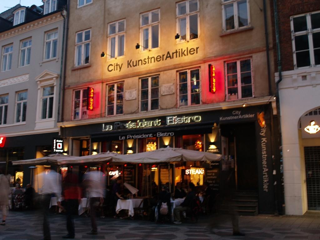 Kopenhaga. Str?get ? twarz miasta