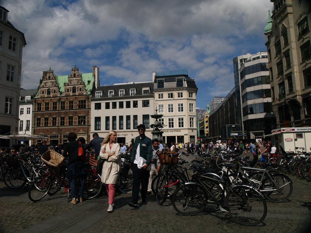 Kopenhaga. Rynki na Strøget