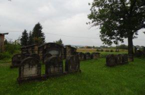 Zakliczyn Jedyny żydowski cmentarz z I wojny