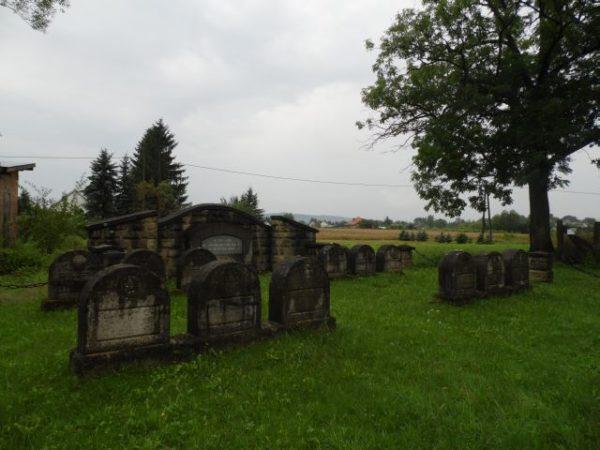 Zakliczyn. Jedyny żydowski cmentarz z I wojny