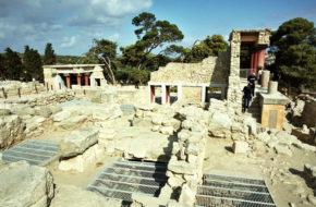 Knossos Pałac i Labirynt Minotaura