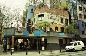 Wiedeń Trzy budowle Hundertwassera