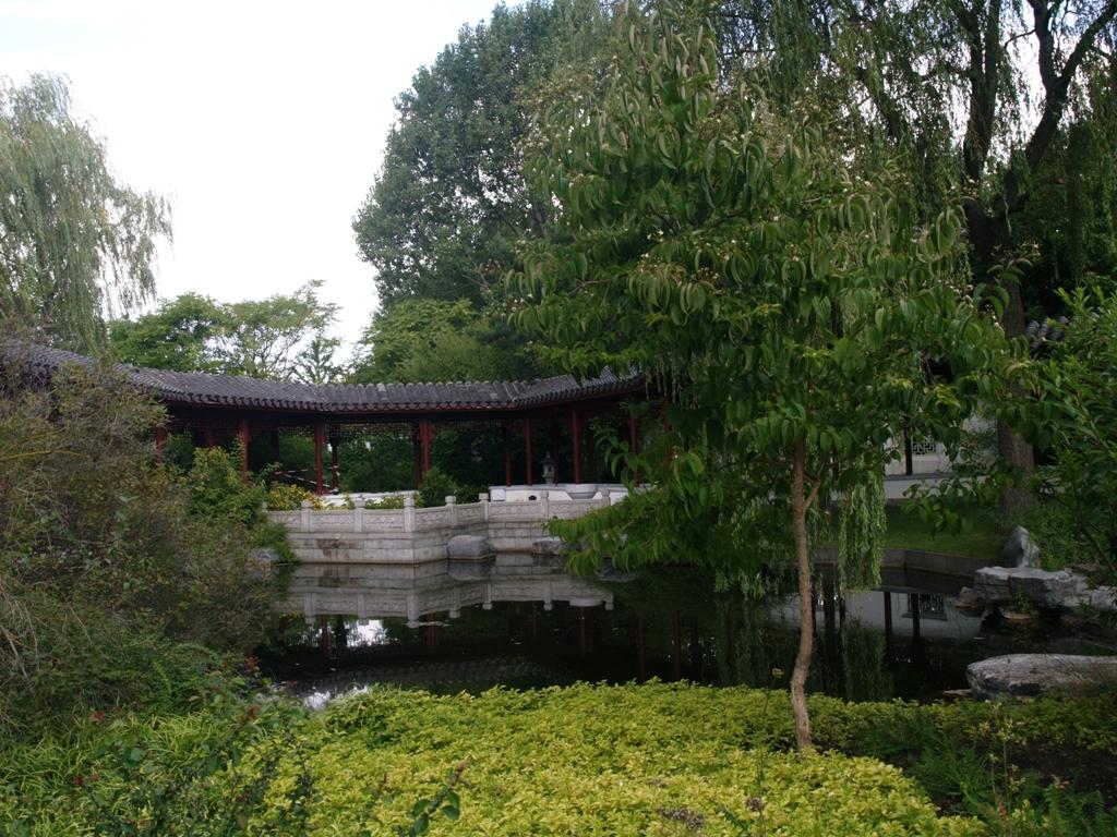 Berlin. Herbatka w ogrodzie chińskim