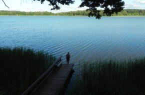 Jezioro Borzechowskie Najgłębszy akwen na Kociewiu