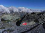 Gornergrat. Kolejka z widokiem na Matterhorn