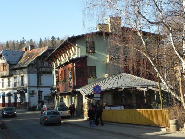 Szklarska Poręba. Rzut oka na miasto z sanatorium Granit