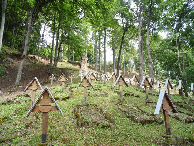 Łużna. Największy cmentarz na wzgórzu Pustki