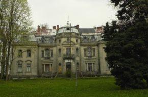 Borkowice Nędzny obraz prześwietnego pałacu