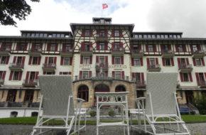 Bergün Stuletni hotel w stylu Art Nouveau