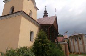 Ropa Kościół, dwór, cmentarz – nad rzeką Ropą