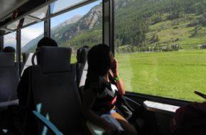 Mattertal Koleją żelazną z Visp do Zermatt