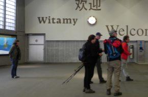 Zermatt Antylawinowy dworzec kolejowy