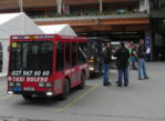 Zermatt. Antylawinowy dworzec kolejowy