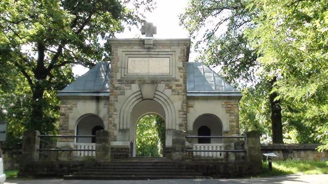 Gorlice. Cmentarz – mauzoleum bitwy gorlickiej