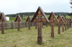 Grab Dwa cmentarze z pierwszej wojny