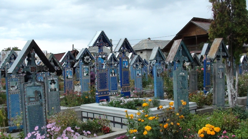 Săpânța. Na Wesołym Cmentarzu