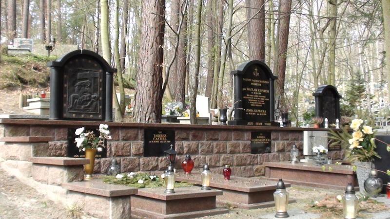 Sopot. Cmentarz komunalny i parafialny