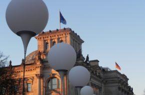 Berlin Lichtgrenze, czyli granica ze światła