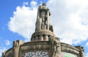Hamburg Pomnik Bismarcka, żelaznego kanclerza