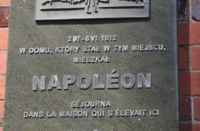 Toruń Napoleon w mieście Kopernika