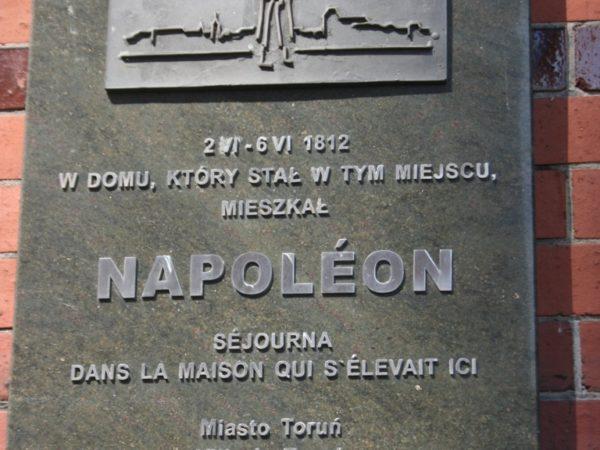 Toruń. Napoleon w mieście Kopernika