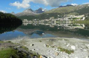 Sankt Moritz Szybkim marszem wokół jeziora