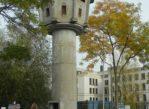 Berlin. Wachturm, czyli wieża przy Murze