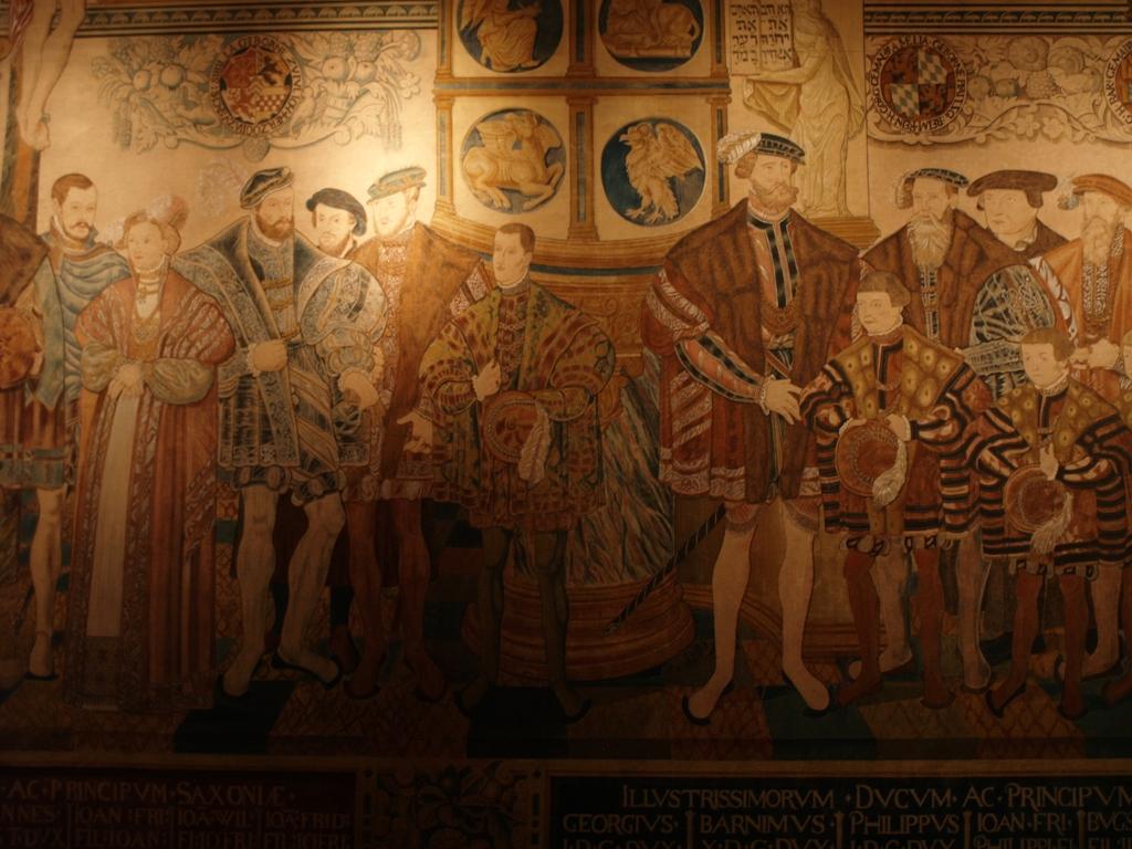 Szczecin. Gobelin Croya w Muzeum Narodowym