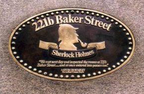 Londyn Tropem Sherlocka Holmesa
