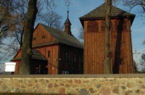 Zwola Poduchowna Drewniany kościół przyciągnęły woły