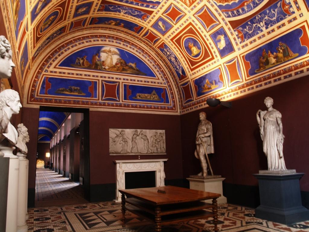 Kopenhaga. Muzeum Thorvaldsena