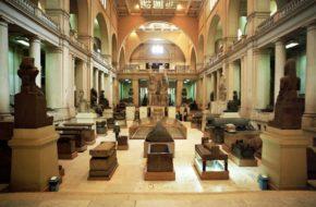 Kair Muzeum Egipskie, czyli starożytności