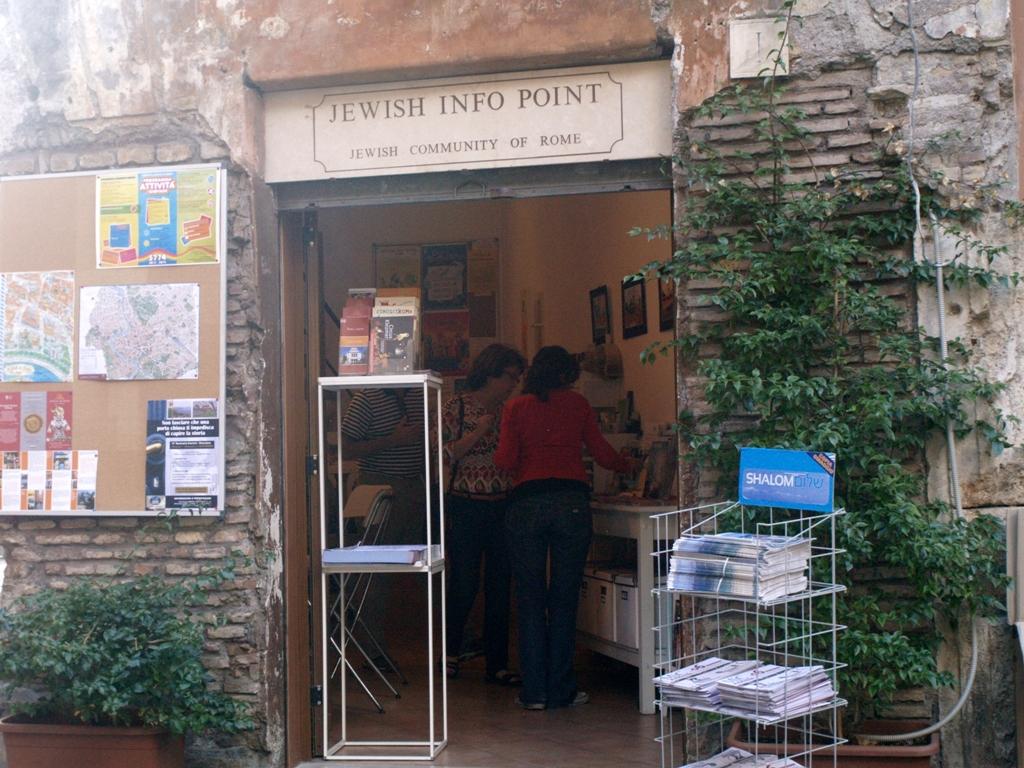 Rzym. Spacer po dzielnicy żydowskiej