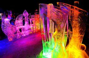 Hrebienok Mistrzostwa w ciosaniu rzeźb z lodu