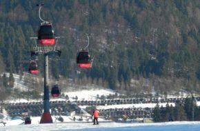 Krynica-Zdrój Zimowe atrakcje kurortu pod Jaworzyną