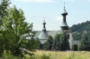 Klimkówka Kościół nad zalewem