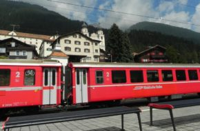 Disentis/Mustér Tu Glacier Express zmienia napęd