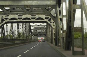 Grudziądz Najdłuższy most drogowo-kolejowy