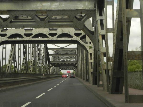 Grudziądz. Najdłuższy most drogowo-kolejowy