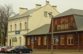 Dęblin Dworzec Kolei Nadwiślańskiej