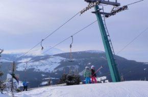 Malá Úpa Tu najwcześniej startują narciarze