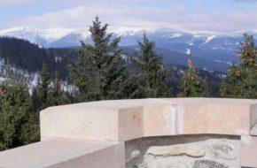 Vrchlabí Wieża widokowa na górze Žalý