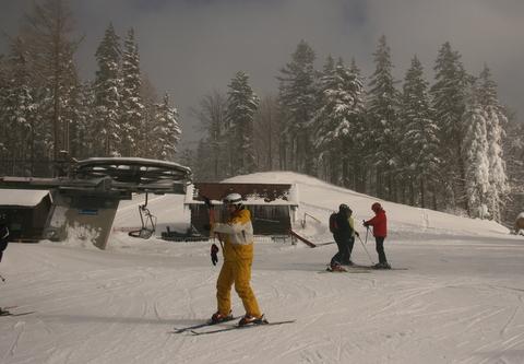 Vrátna. Najwięcej narciarzy jest na Pasiekach